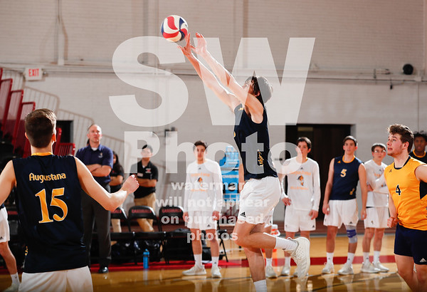 2.8.2019 - Augustana Men's Volleyball vs. UCSC