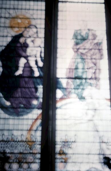 1960-2-5 (36) Window in Nurses Chapel, Estminster Abbey, London.JPG