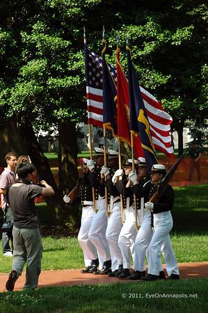 USNA Color Parade 2011