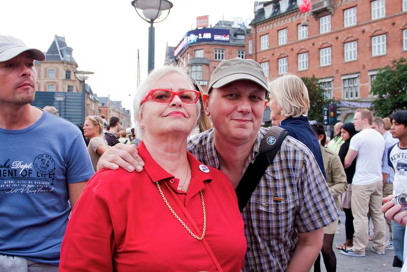 Henrik, Barbara and Frank