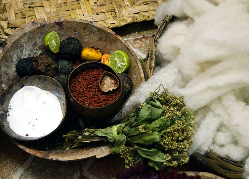 products to create natural dyes.
