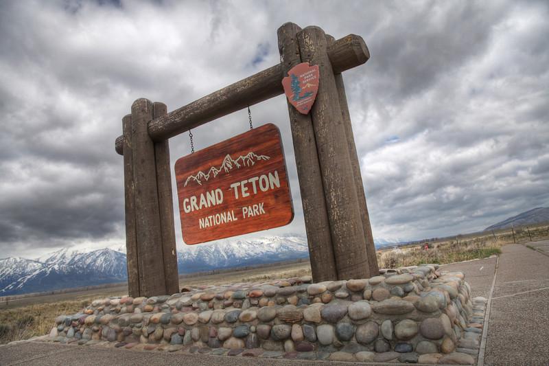 Grand Teton National Park, south entrance. (HDR)