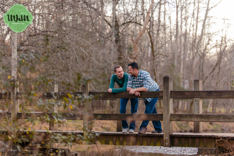 Snuggly, Same Sex Engagement Photography at West Point on the Eno - MKM Photography (16).jpg