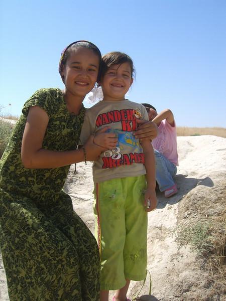 Smiling Faces - Annau, Turkmenistan