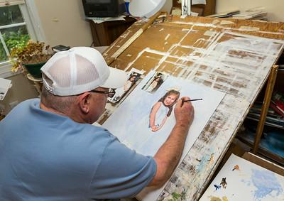 Wayne Spradley Painter
