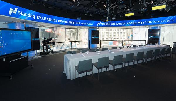 Nasdaq Exchanges Board Meeting