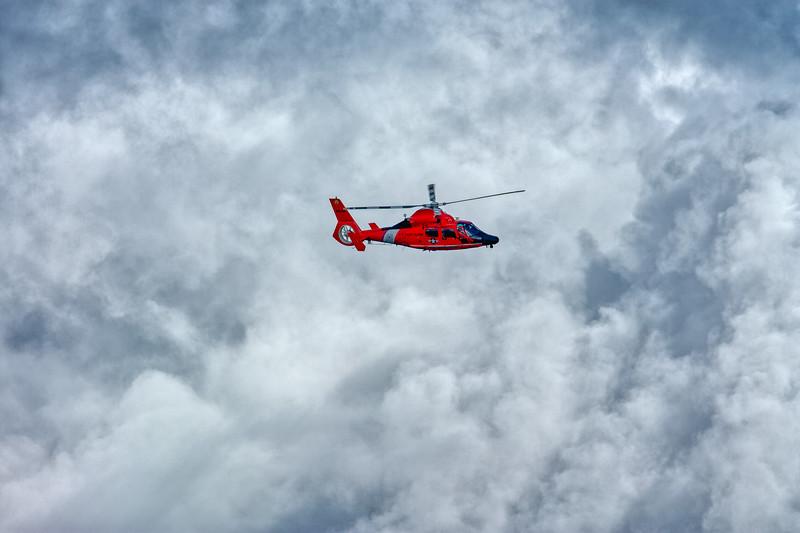 Coast Guard Helicoper, Palo Alto, California, 2010