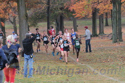 Mens 8K @ 3000m - 2015 GLIAC XC Championships