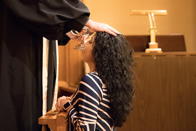 Baptism of Priscilla Leibig