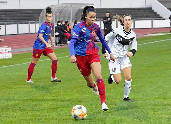 FC Basel 1893 Frauen - Lugano Femminile / 5:0 / 07. November 2020