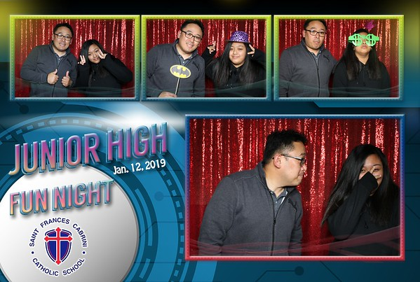 SFC Junior High Fun Night 2019