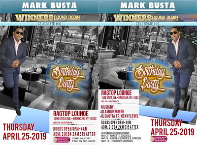 "MARK BUSTA ""BIRTHDAY BASH""(0)"