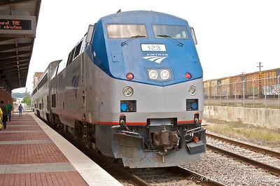 AmTrak,Train Day,Ft. Worth 05-10-08