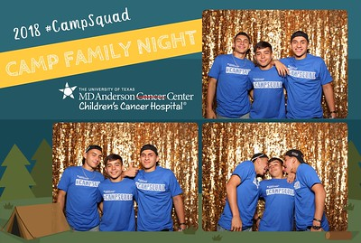 MD Anderson Camp Family Night - MD Anderson Childrens Hospital - 5.31.2018
