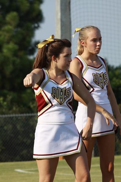 AHS Cheerleaders 2011