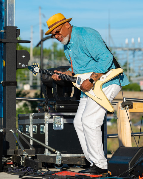 Toronzo Cannon at Northwoods Blues Festival - 210619