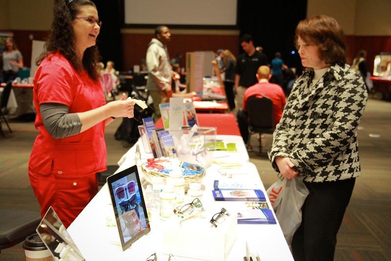 GWU Health and Wellness Fair; Spring 2013