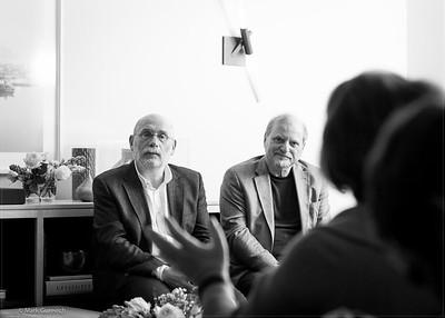 Akunin-Genis Talk at Brodsky Foundation