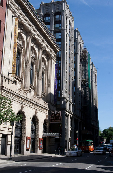 Day 7 - Cutler Majestic Theatre, home to STOMP in Boston