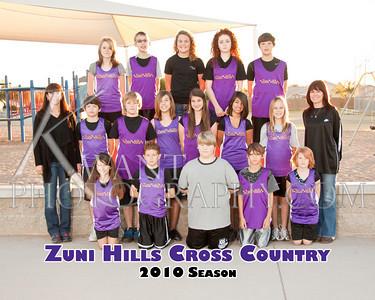 Zuni Hills Cross Country 2010