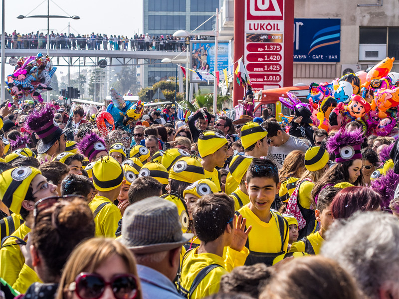 Carnival in Limassol, Cyprus