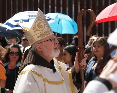 Mass at the Border
