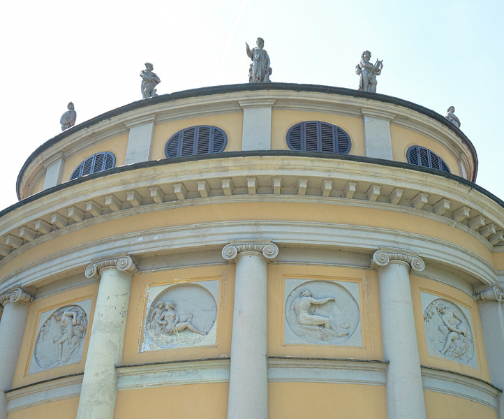 Villa La Rotonda Detail