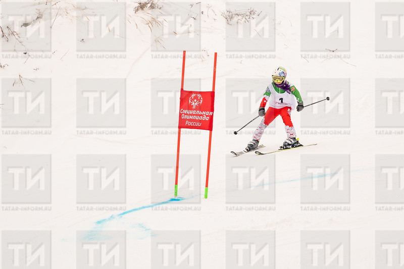 04.02.2021 - Горные лыжи Специальная Олимпиада (Фото Салават Камалетдинов )