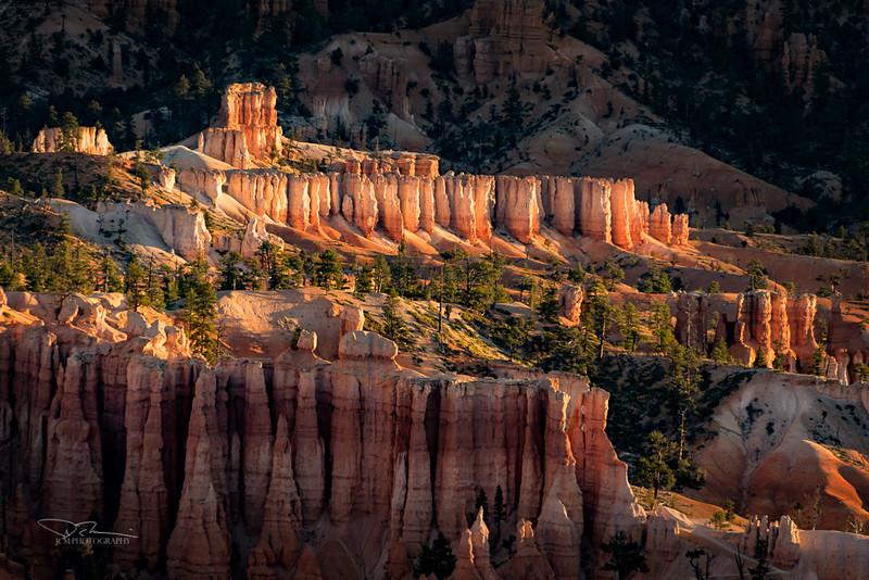 Glowing Hoodoos, Bryce Canyon