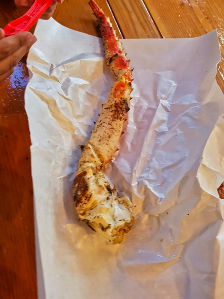 King Crab Ready to Eat