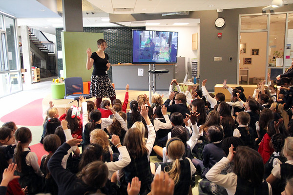 Lower School Visiting Author: Anica Rissi