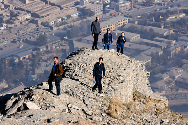 Afghanistan Kabul Zenborak Mountain View