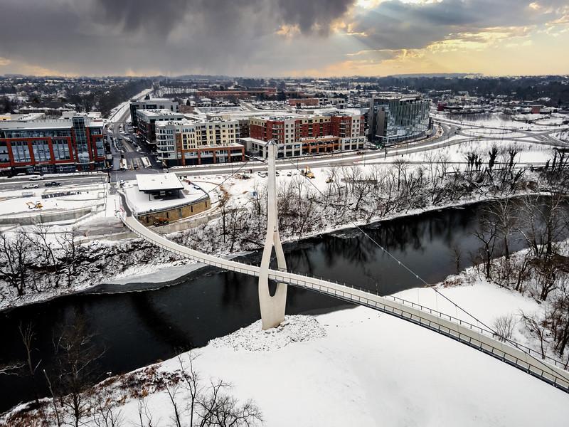 City of Dublin Winter Photos