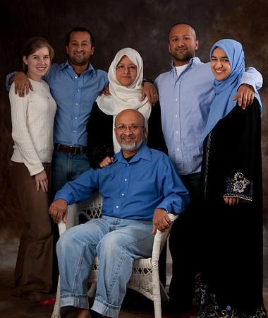 Taneem Aziz Family