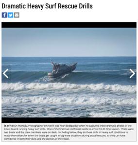 Press Democrat, 18 Photos of Coast Guard Rescue Drills