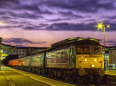 Class 47s at Night: 1993-2003.