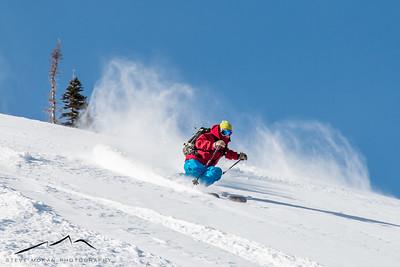 New Year's Backcountry Skiing (Jan. '15)