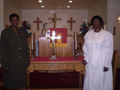 Rev. Alston & Sister
