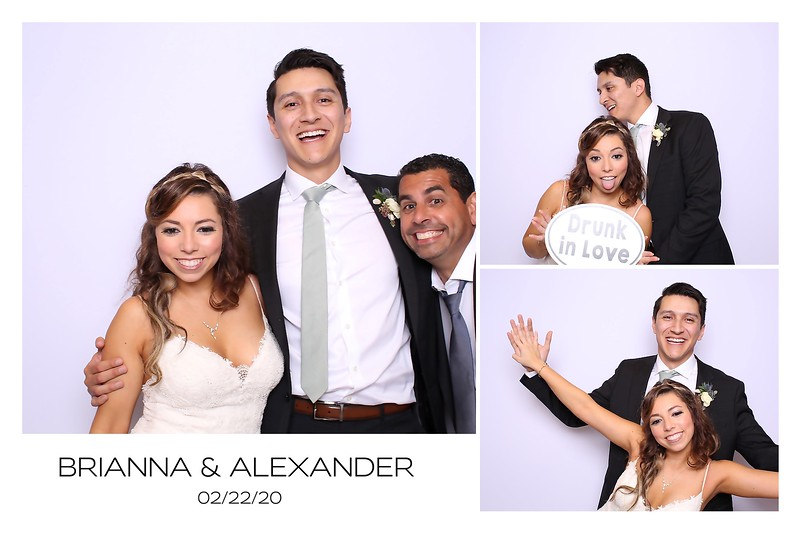 Brianna and Alexander (BW and Color SkinGlow BOoth)