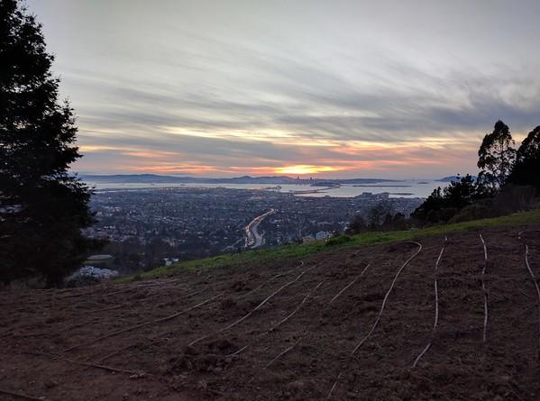 Sunsets and sunrises 2017