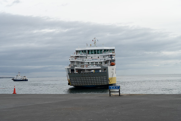From Punta Arenas to Tierra del Fuego (Land of Fire) with the ferry, Patagonia, Chile - January, 2019