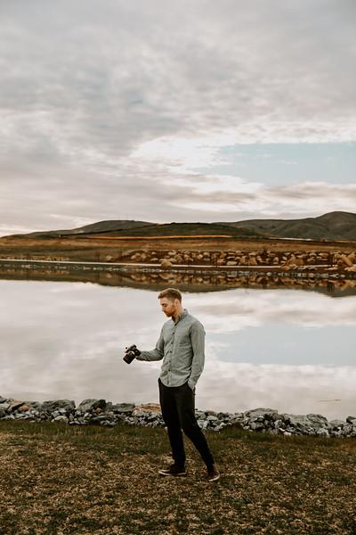 Nate at one lake