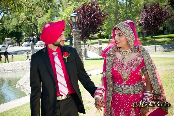 Bikramjit Singh weds Baljit Kaur Wedding Pictures