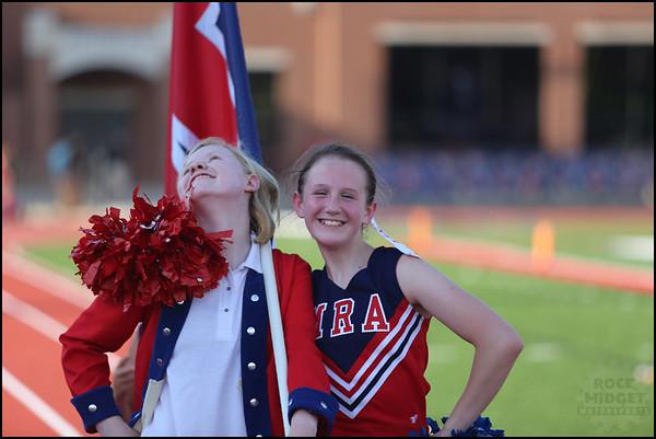 MRA v Hillcrest 7th Grade Cheer
