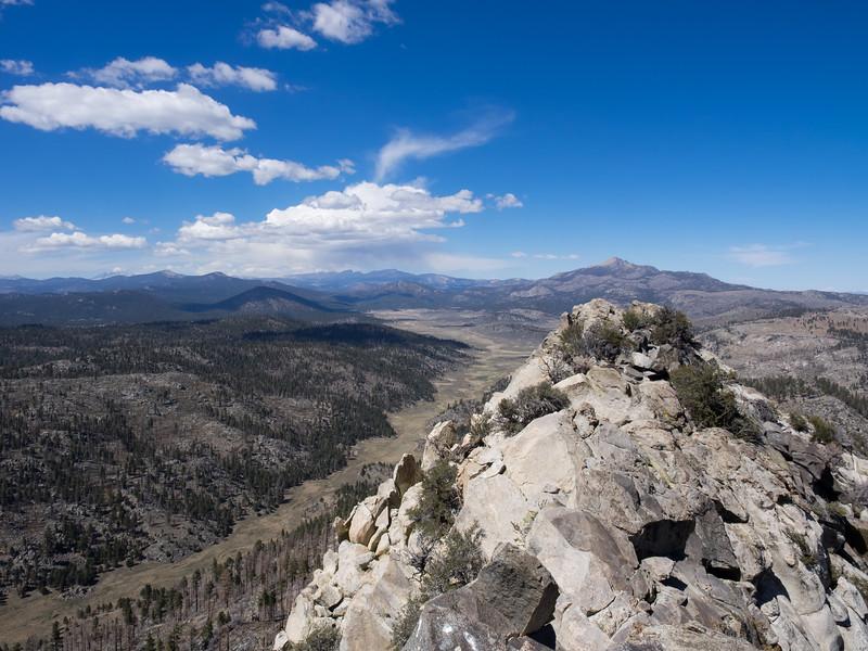 Kern Peak  to Olancha Peak