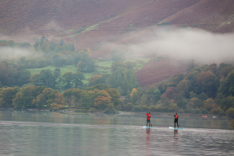 Out for a paddle around Derwentwater