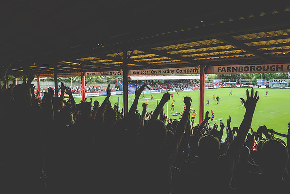 Aldershot Town v Altrincham - Vanarama Conference Premier - 9th August 2014 - NO UNAUTHORISED USE