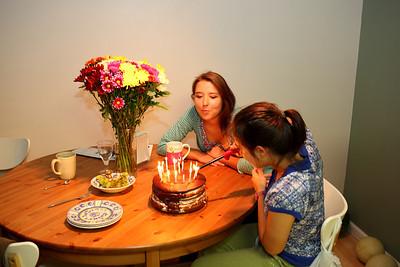 Irinas birthday - September 2012