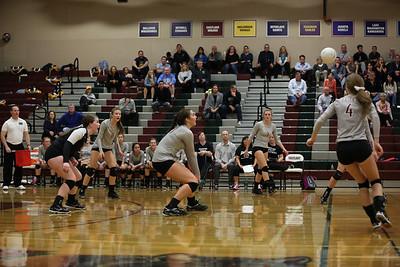 Bellevue @ Eastlake  Volleyball