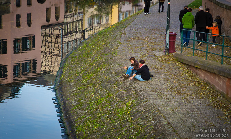 Relaxing by the Canal    Photography by Wayne Heim
